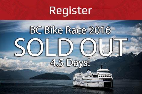 BC Bike Race 2016: July 6 - 13, 2016