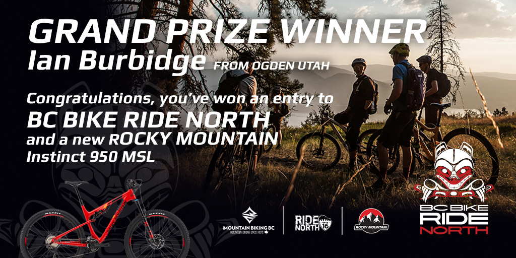 BC Bike Ride Contest Winner Announced!