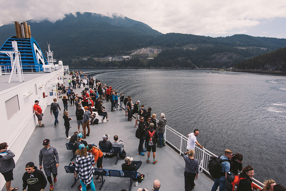 BC Ferry race transfer