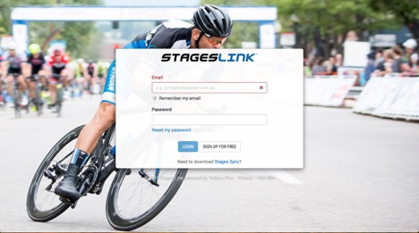 Using Stages Link's workout builder for the BC Bike Race