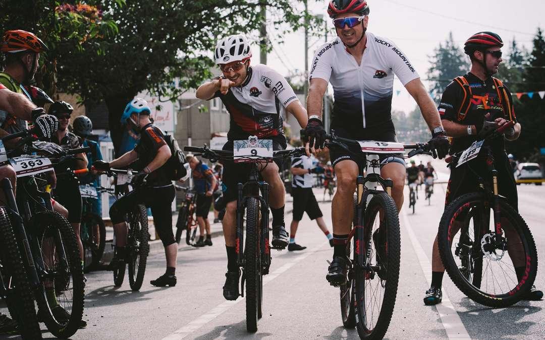 Kicking off the 2018 BC Bike Race