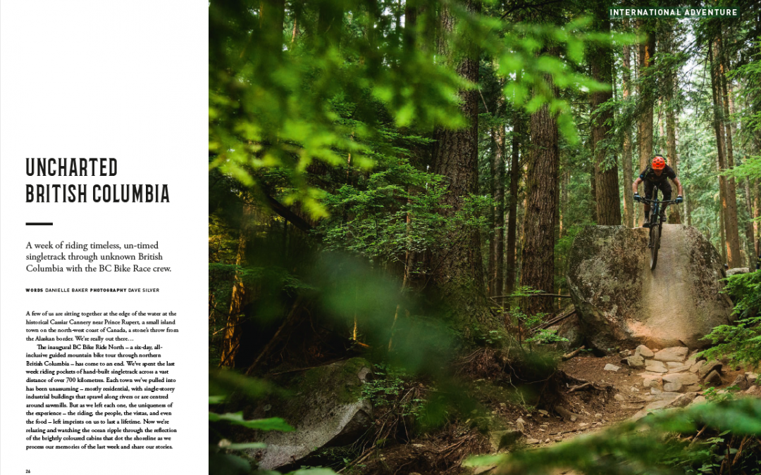 Singletrack Magazine: Uncharted British Columbia