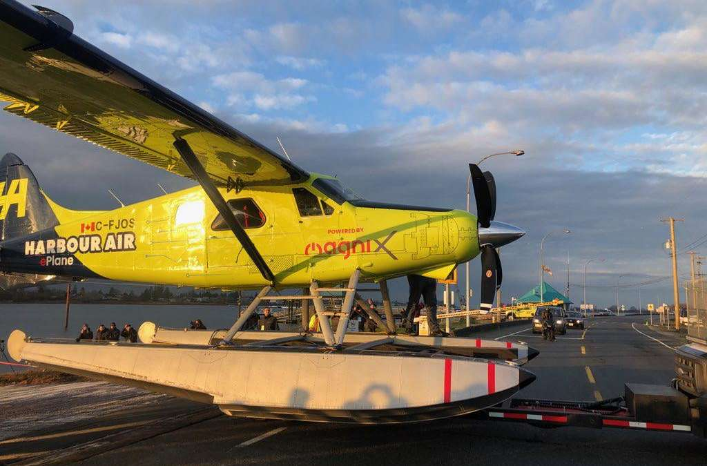 Harbour Air making aviation history