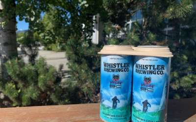 New Partnership with Whistler Brewing